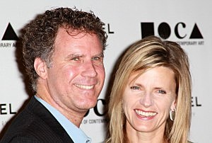 Actor Will Ferrell and wife Viveca Paulin