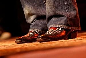 Rhinestone Cowboy shoes