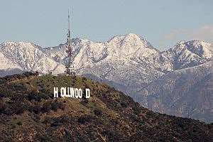 Famed Hollywood Sign