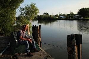 Fishing in White Lake