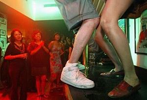 Bar Top Dancing