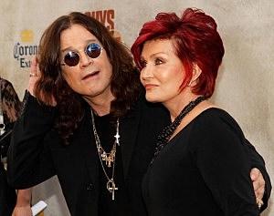 Ozzy and Sharon Osborne