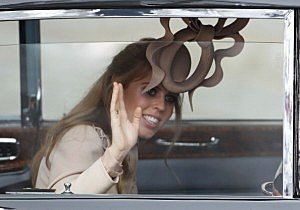crazy wedding hat