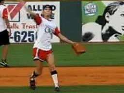 carrie underwood softball