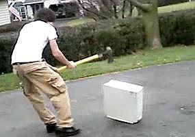 smashing computer