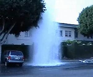 car hydrant