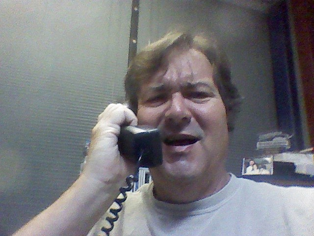 Bruce being phone scammed