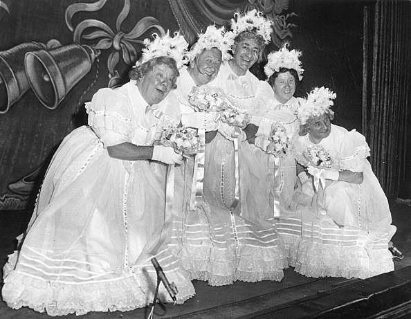 Black and White Bridesmaid Dresses | WedWebTalks