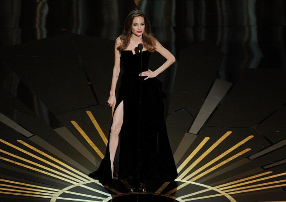 Legbombing With Angelina Jolie
