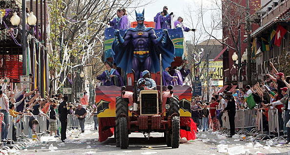 New Orleans Celebrates Its First Mardi Gras Since Hurricane Katrina