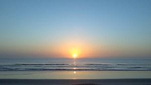 sunrise at New Smyrna FL