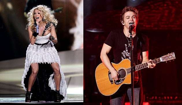 Carrie Underwood and Hunter Hayes