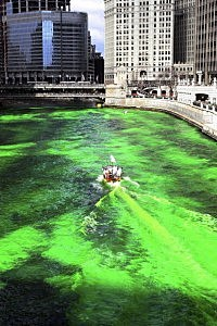 Chicago Goes Green For St. Patricks Day Parade