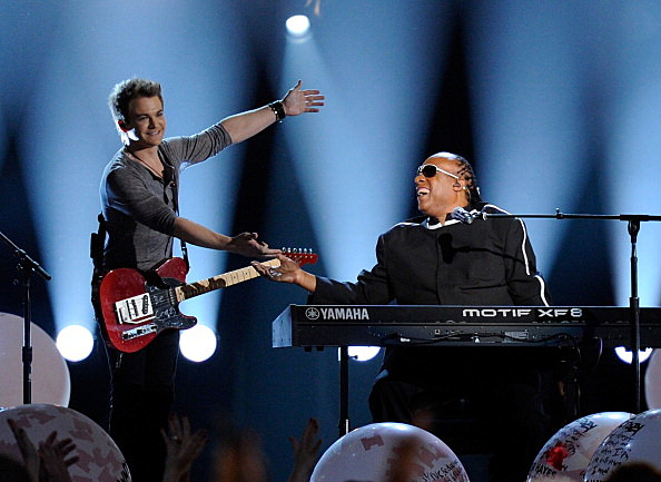 stevie wonder and hunter hayes