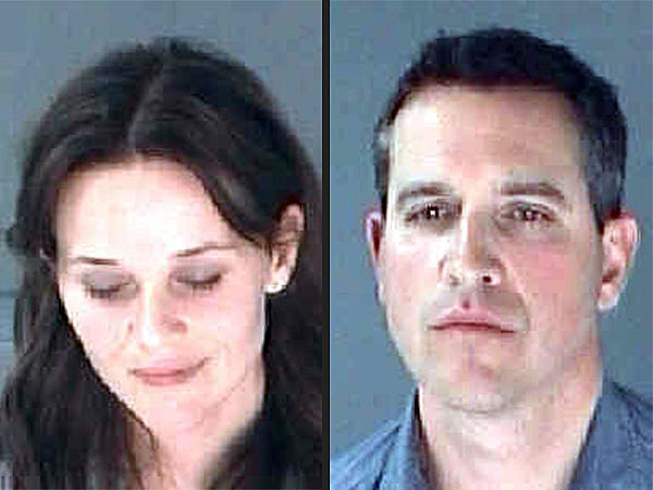 Reese Witherspoon and Husband Jim Toth Mugshots
