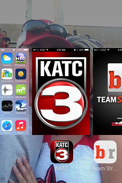 Screenshot of iPhone