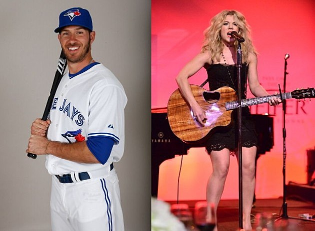 J.C. Arencibia and Kimberly Perry