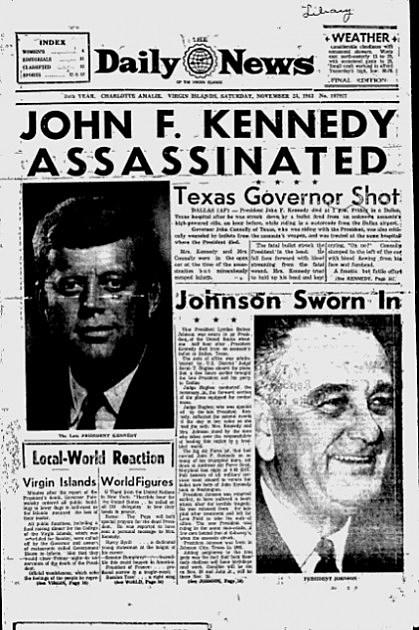 Kennedy assassination date