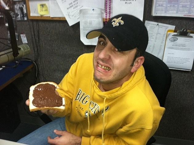 Jude Walker After Tasting Chocolate Bread