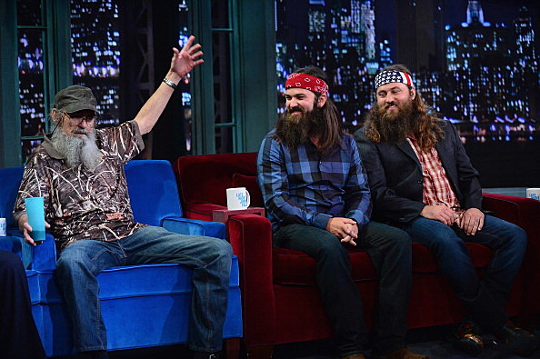 """Duck Dynasty Visits """"Late Night With Jimmy Fallon"""""""