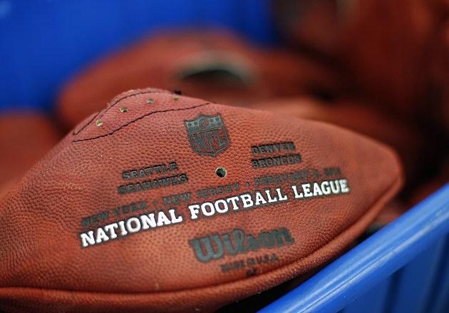 Official Super Bowl XLVIII Footballs