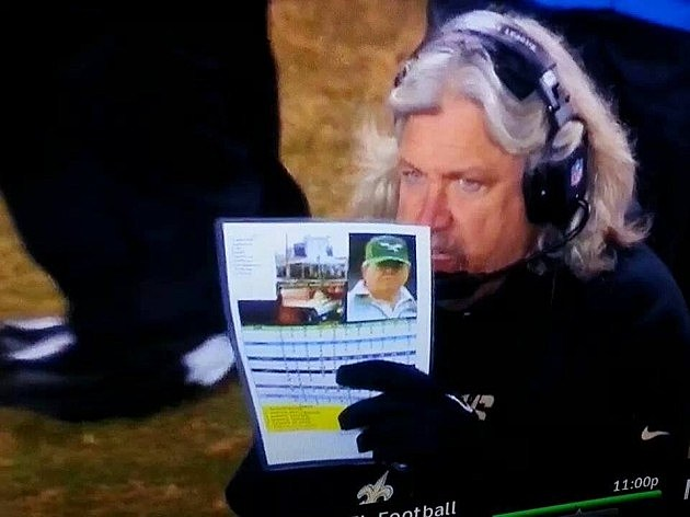 Rob Ryan's Call Sheet