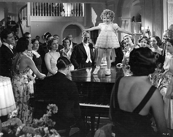 """Shirley Temple in """"Little Miss Somebody"""""""