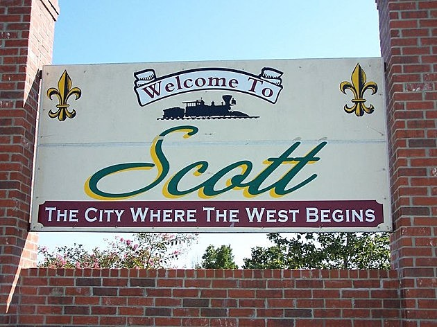 City of Scott Sign