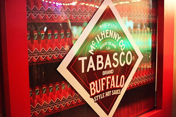 Tabasco Buffalo Style Sauce At The Maxim Party