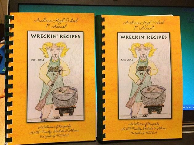 acadiana high school cookbook