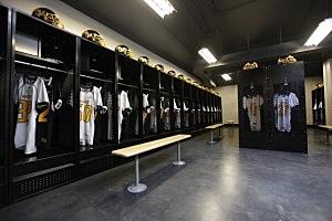 High school Locker Room