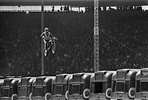 Knievel's Wembley Jump