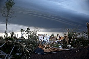 Widespread Damage And Casualties After Tornadoes Rip Through South
