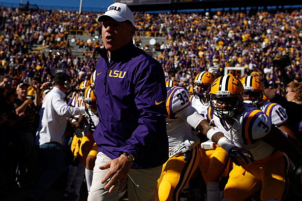 Les Miles and the LSU Tigers