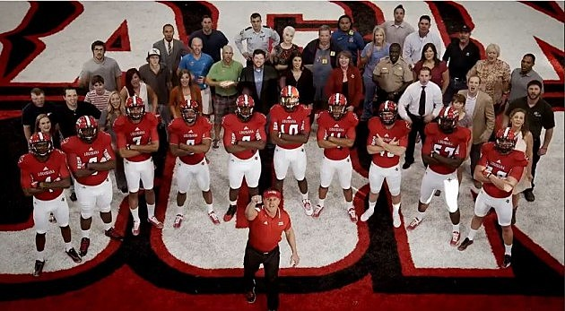 Ragin' Cajuns Football Commercial