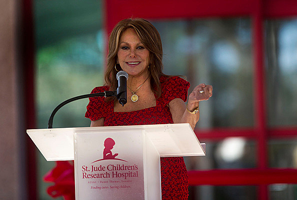 Dedication Of The Marlo Thomas Center For Global Education & Collaboration At St. Jude Children's Research Hospital