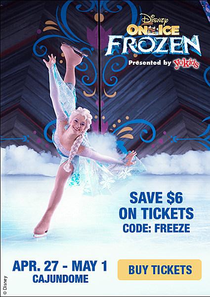 Disney on ice discount coupons