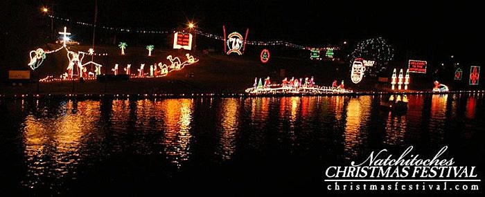 Drone Captures Magical Natchitoches Christmas Lights Along Cane River  [Video] Good Ideas