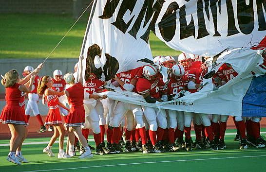 High School football season in Midland Texas
