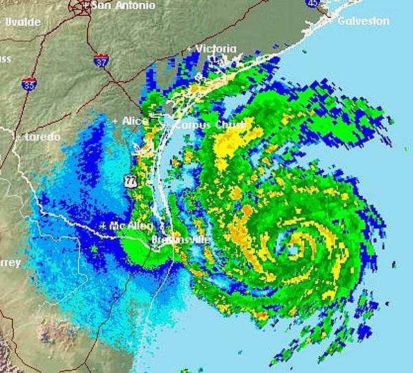 Tracking Hurricane Harvey On Radar