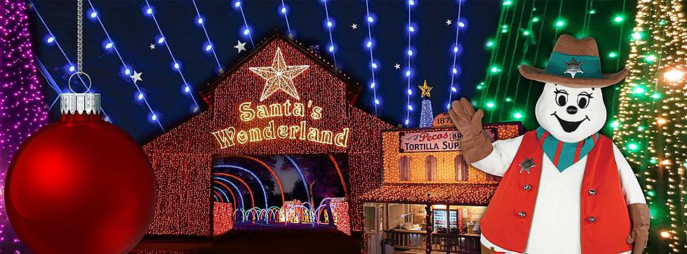 ready for a christmas road trip visit santas wonderland in college station texas - Christmas Lights College Station