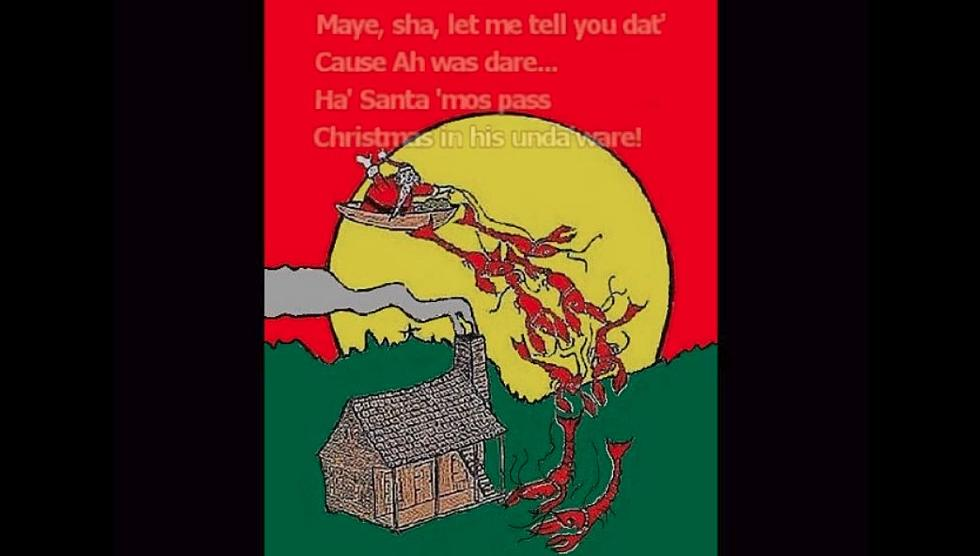 the real cajun night before christmas by crawfishman video - Cajun Night Before Christmas