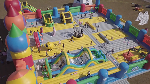 World S Biggest Bounce House Coming To New Orleans In November