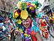 Revelers Fill The Street As New Orleans Celebrates Mardi Gras